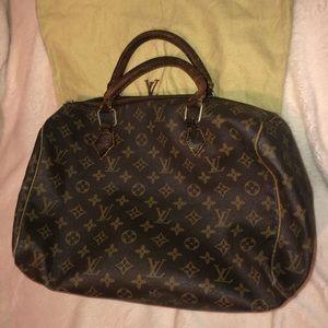 Very old Louis Vuitton handbag